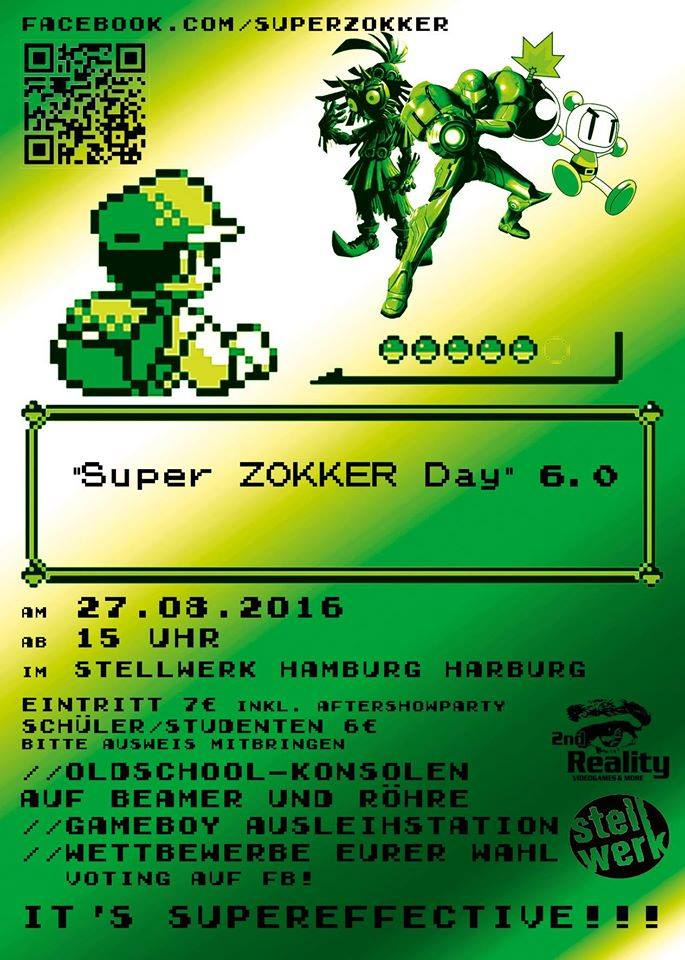 13886377 902829376488795 50047717140026214 n Superzokkerday/ Retrogameconvention/ Aftershowparty