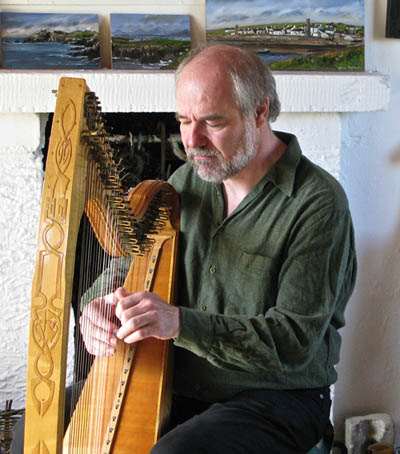 ThomasLoefkeToryI Thomas Loefke   Harp Music from the Celtic Northwest   Konzert mit Lichtbilder