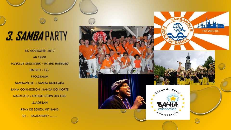Samba im Stellwerk - Die 3. Party der Sambawelle