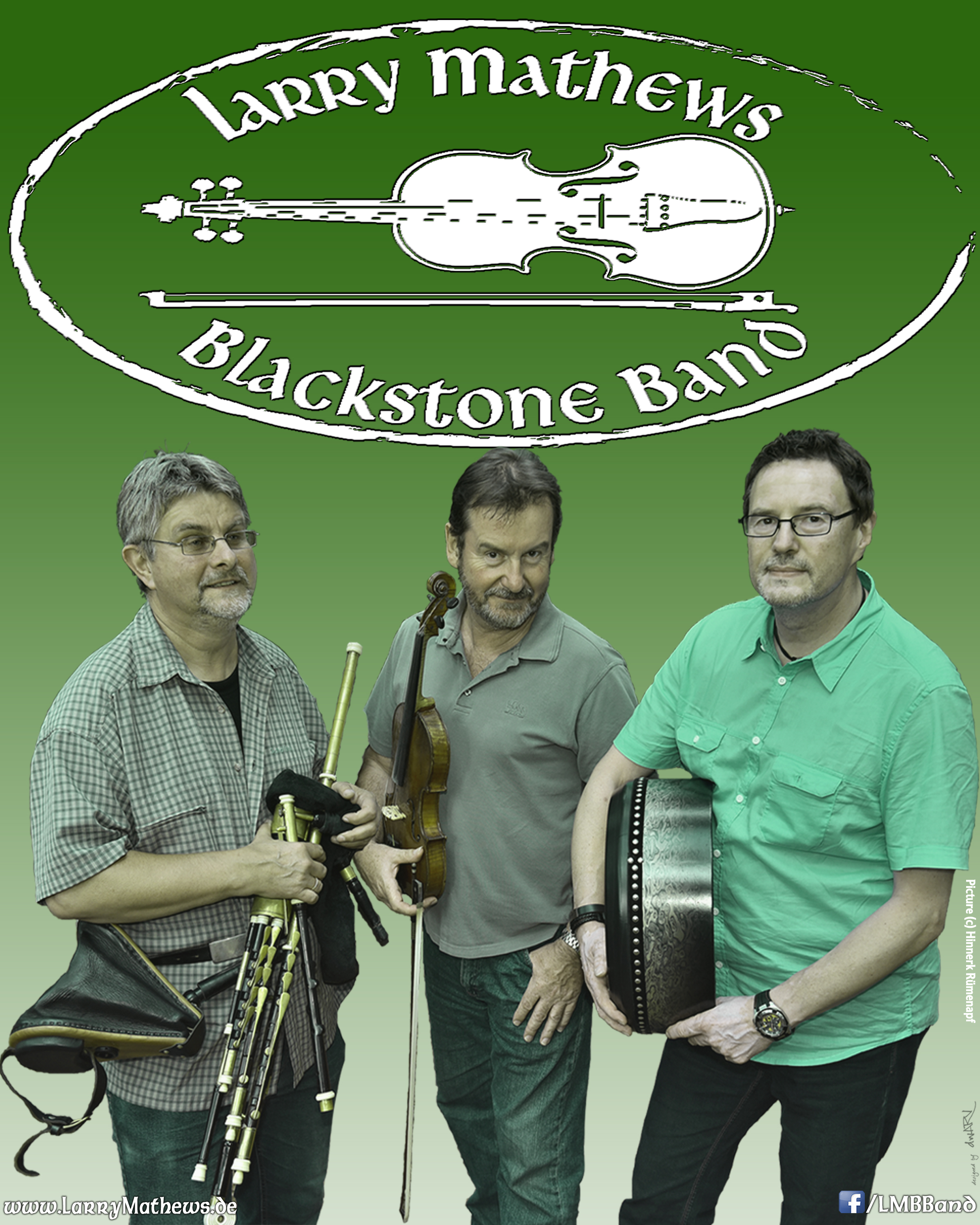 LMB Poster Larry Mathews Blackstone Band