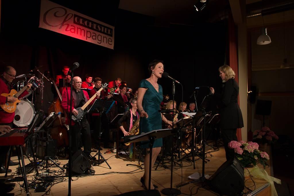 Orchester Champange- Big Band Konzert