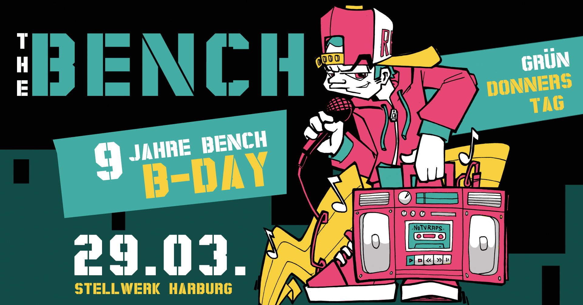 The Bench Birthday 9 Jahre