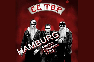 CC Top Header 2018 By Detlef Schulz 400 46350 CC TOP.......the germann tribute to ZZ TOP