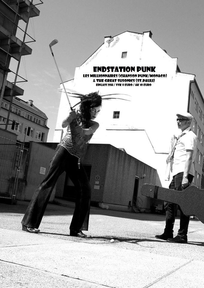 Endstation Punk/ Les Millionnaires & The Great Susonics