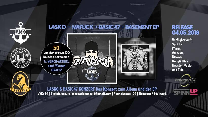 Lasko & Basic47 - Das Konzert zum Album und der EP