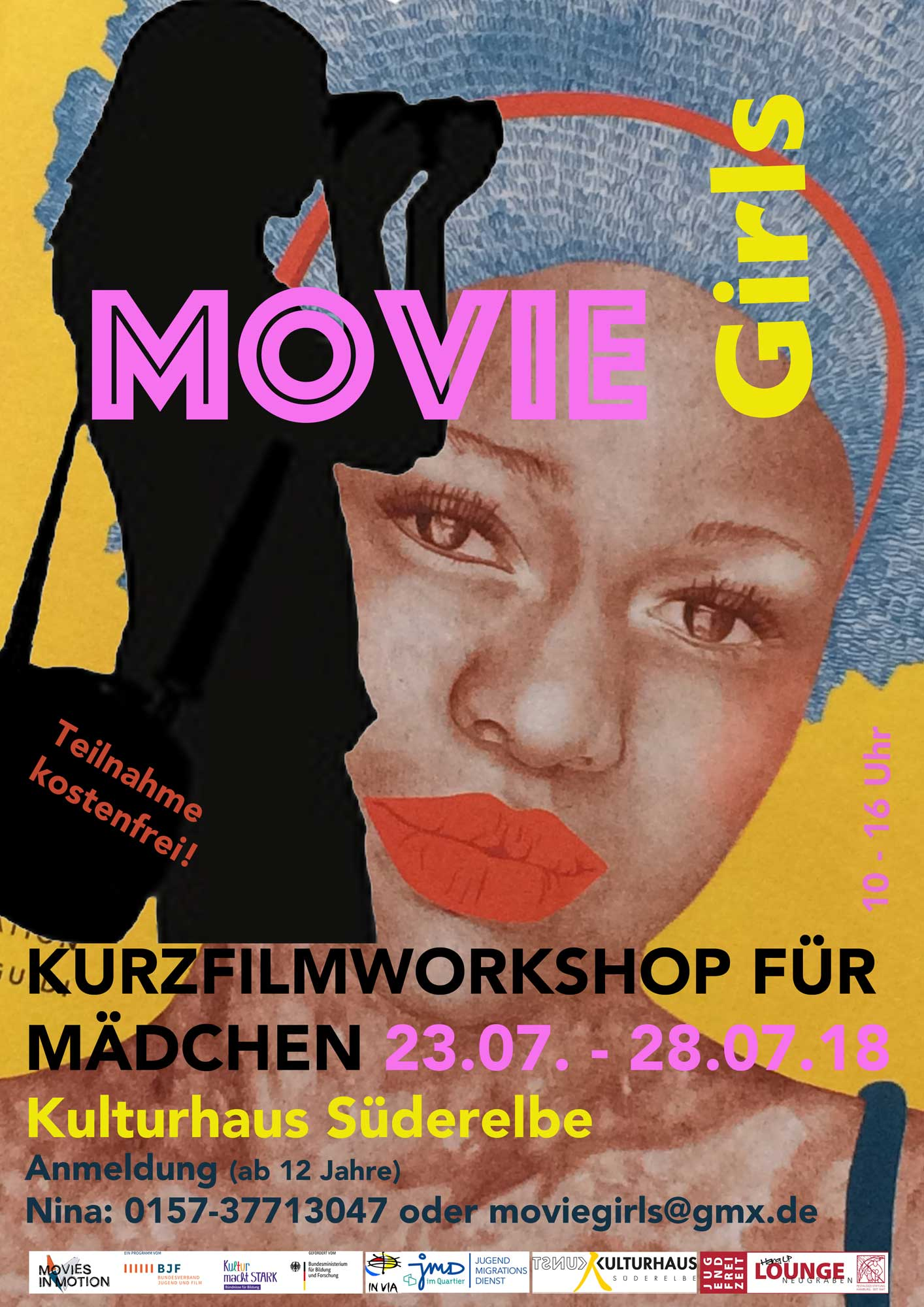 Moviegirls1 MOVIE Girls   Kurzfilmworkshop für Mädchen