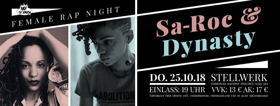 Female Rap Night feat. Sa-Roc & Dynasty