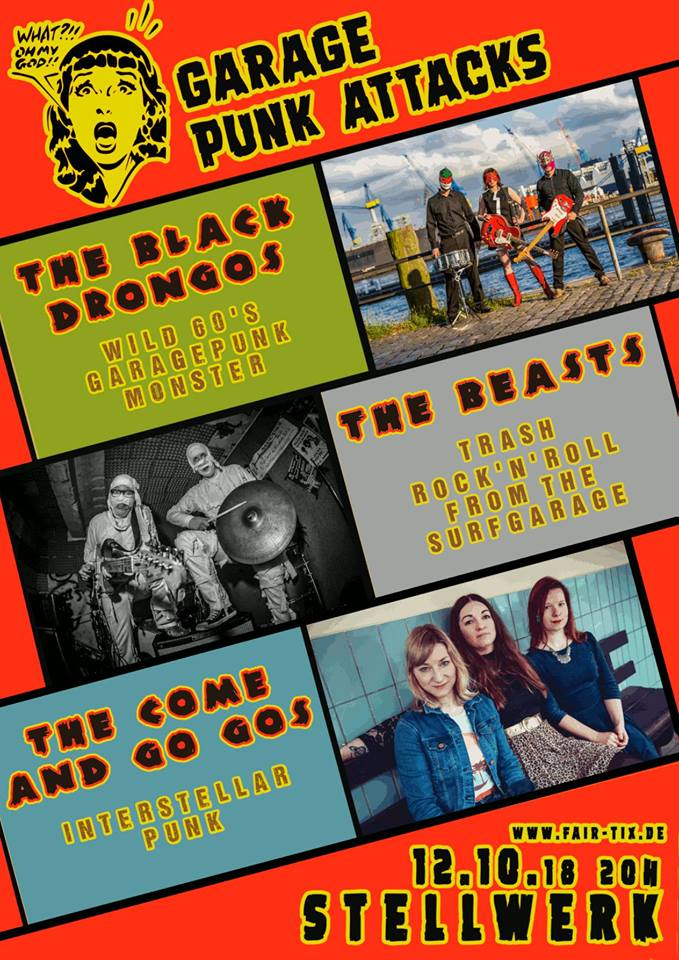 The Black Drongos & The Beasts & The Come and GO GOs