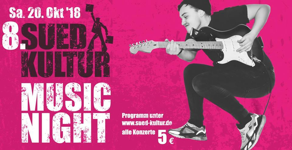 8. SuedKultur MusicNight 2018 in Hamburg - Harburg/Wilhelmsburg/ Funk-Soul Nighter