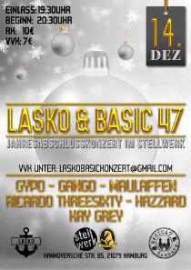 Lasko & Basic47 - Jahresabschlusskonzert