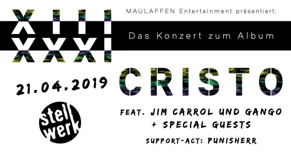 Cristo - 13|31 Das Konzert zum Album