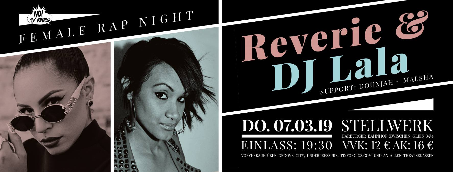 Female Rap Night feat. Reverie & DJ LALA