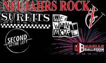 neujahrsrock 2019 Header 450 NeujahrsRock VI mit We Want More, Surfits und Second on the Left