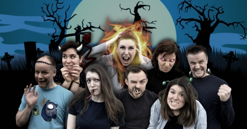 2019 06 08 Meet The Monsters Copyright Matthias Mazur  mittel Meet the Monsters   Impro Theater | Die Impro Sommermix Show