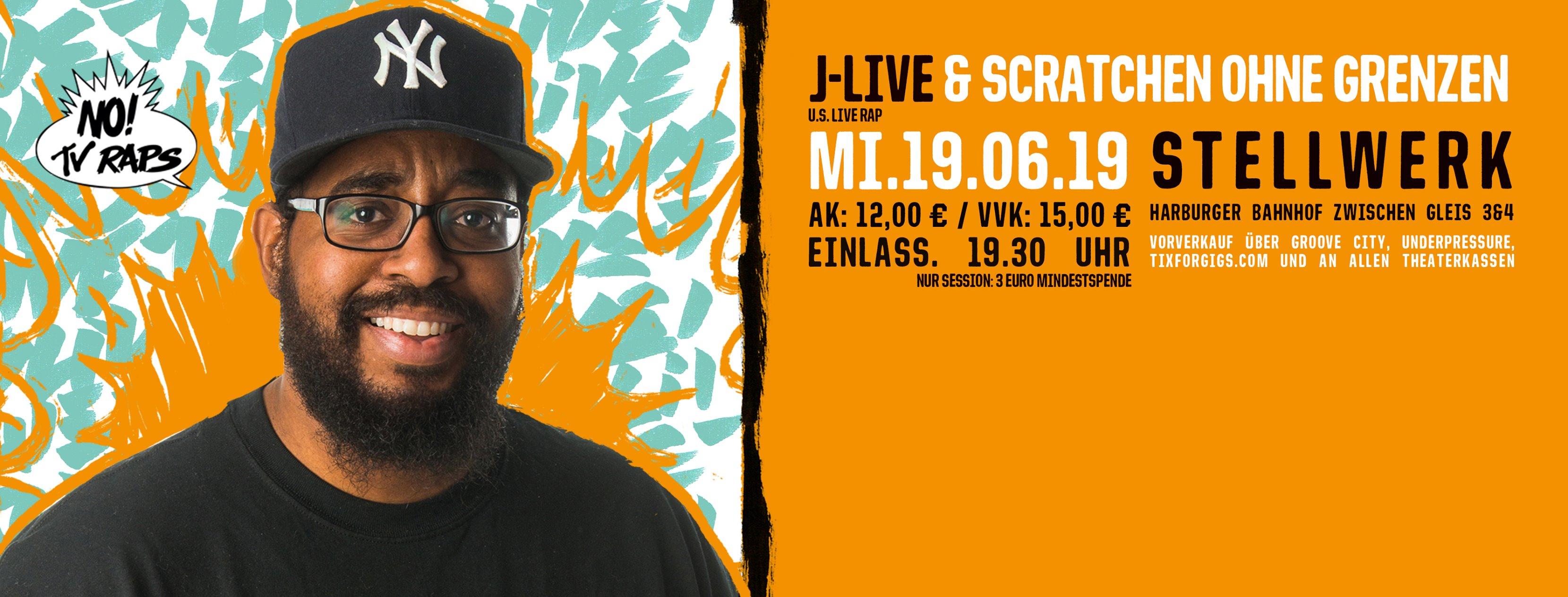J-Live&Scratchen ohne Grenzen