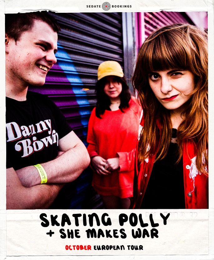 Skating Polly + She Makes War