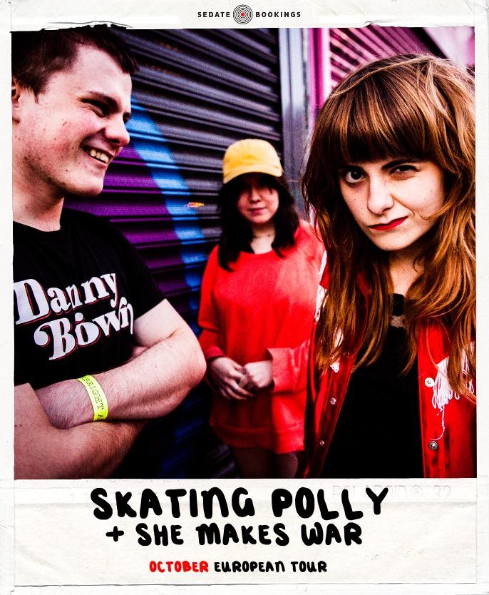 Skating Polly + She Makes War
