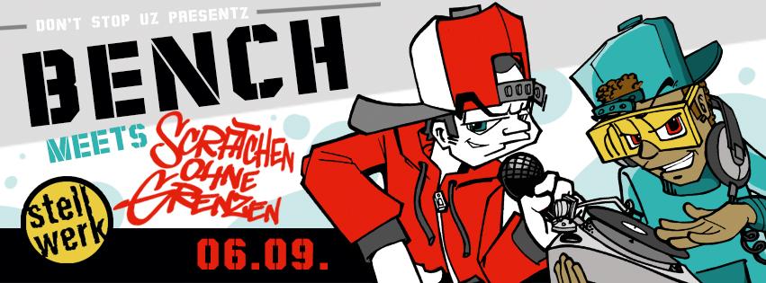 The Bench meets Scratchen ohne Grenzen