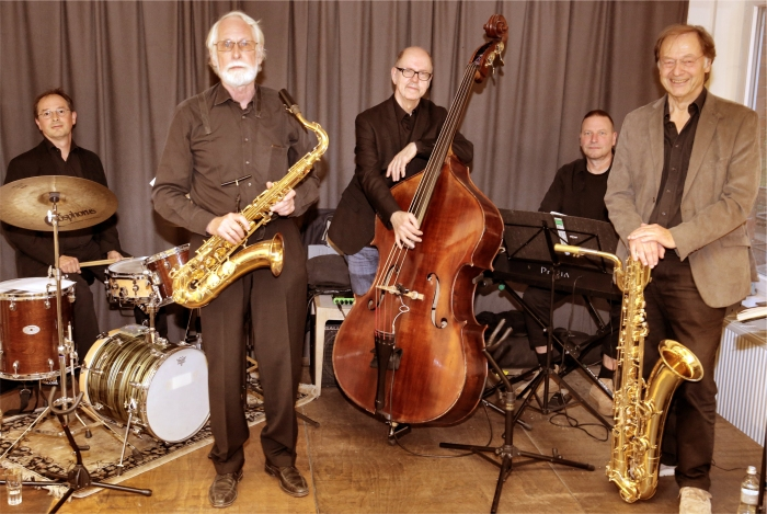 2020 01 18   Saxotones Jazz Quintett Copyright Saxotones   mittel Saxotones Jazz Quintett komm du