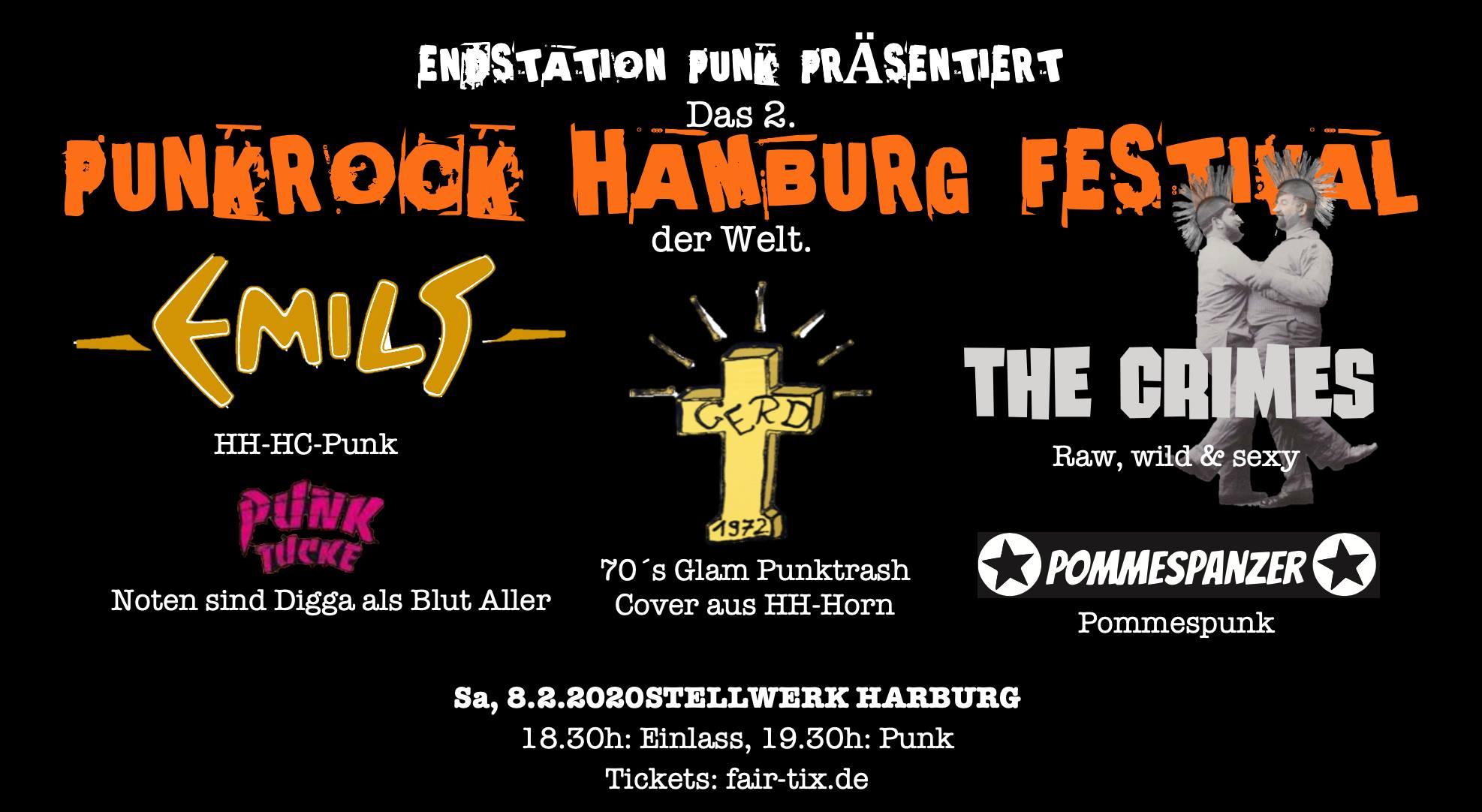 Sold out ! - Das 2. Punkrock Hamburg Festival der Welt