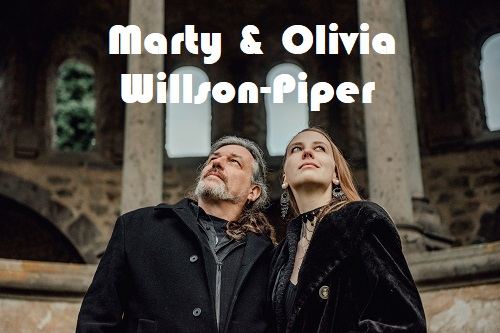 MartyOlivia Willson Piper 2019 Pic3 by Charly Wulff 500 Olivia & Marty Willson Piper (ex The Church)