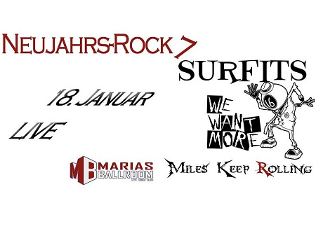 Neujahrsrock 2020 Header By Simon Ballrath 450 NeujahrsRock VII mit We Want More, Surfits und Miles Keep Rolling