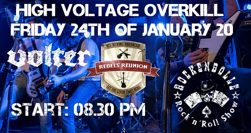 Rebels Reunion 2019 Pic1 By Christian LePolotec 500 Header High Voltage Overkill with Rebels´ Reunion / Volter / RockenBolle