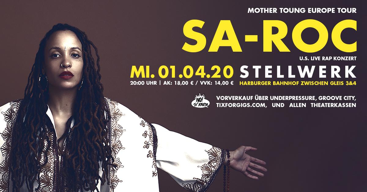 Sa-Roc - Mother Toung Europe Tour
