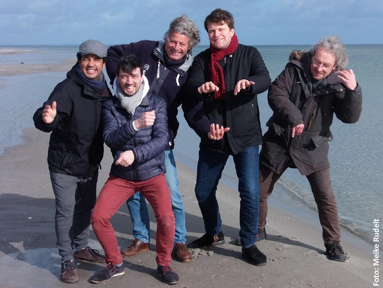 Baben der Erde Quintet 1  Meike Rudelt SuedKulturSommer: Alf Baben der Erde Quintett jazzinhamburg